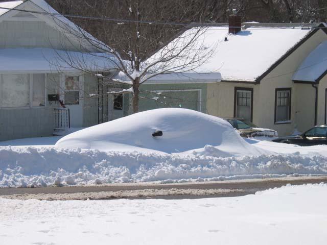 Snowed-in Grand Am
